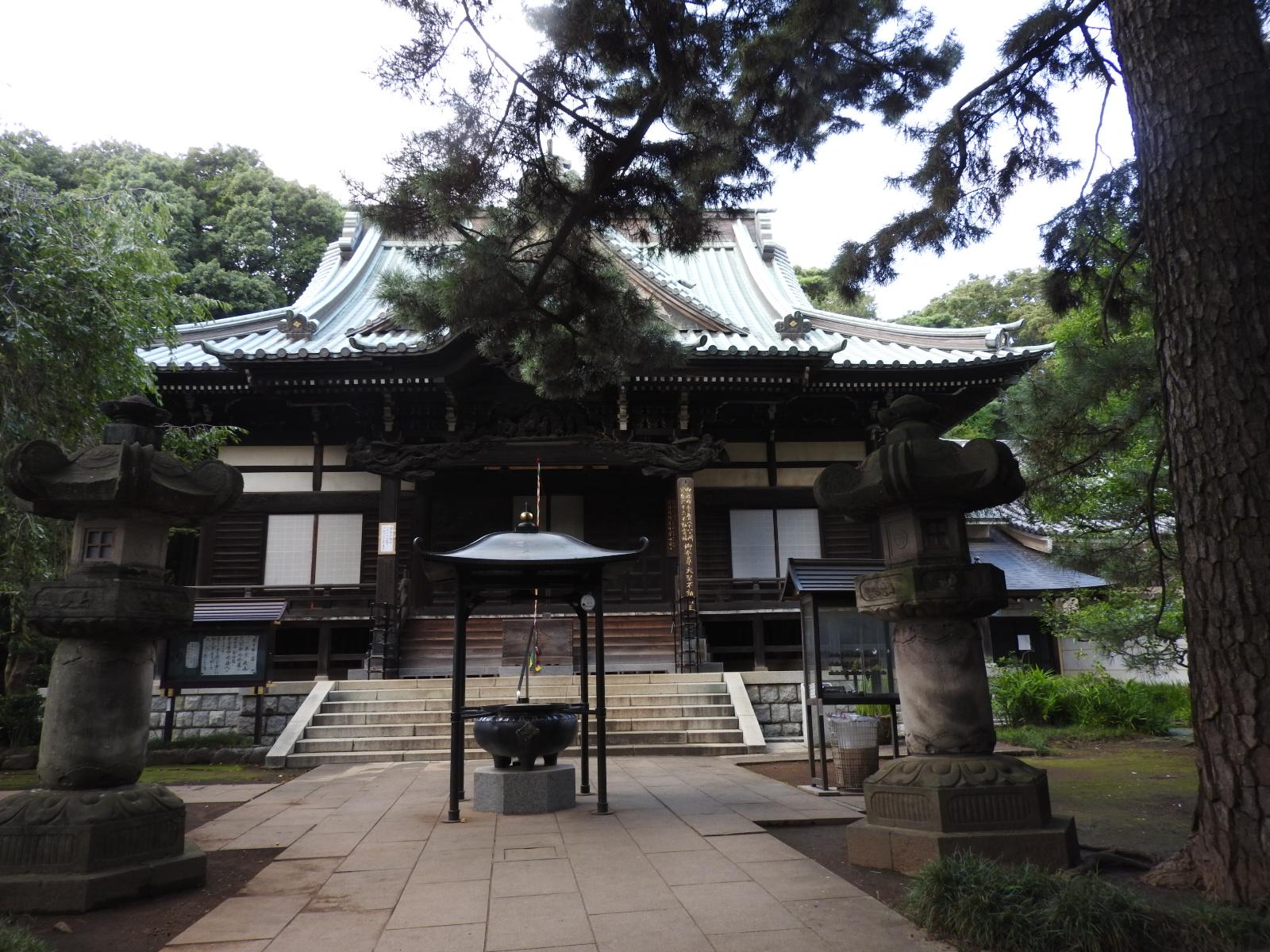三宝寺と氷川神社