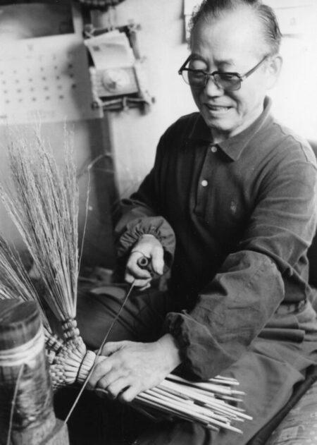 29 練馬の伝統 草ぼうき